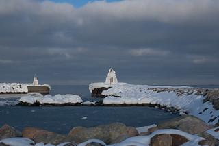 Frozen landmarks