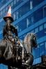 Glasgow (tiggerpics2010) Tags: wellington statue glasgow trafficcone