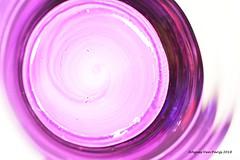 Bottom of a glass (Agnes Van Parijs) Tags: macromondays imperfection glas glass bottom bodem