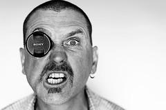10/52Weeks At 55mm (Lyndon (NZ)) Tags: week102018 52weeksin2018 weekstartingmondaymarch052018 monochrome blackandwhite portrait 1052 selfportrait sony ilce7m2