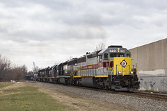All Aired up and Ready to Go (sully7302) Tags: norfolk southern erie lackwanna sd452 1700 heritage unit 1701 1702 1703 gp40 csx conrail shared assets train transport pr32 garden state secondary el elizabeth cnj new jersey oak island