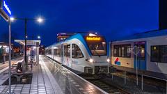 Doetinchem BRENG 5048 trein 30770 Arnhem Centraal (Rob Dammers) Tags: doetinchem gelderland nederland nl breng direct blauwe uur trein train zug achterhoek