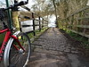 Not this way today (stevenbrandist) Tags: cycling flood water canal trek820 winter weather commute commuting