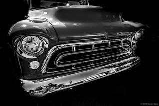 1957 Chevy Pickup Truck Grill ©2018 Steven Karp