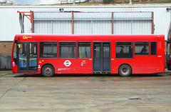 GAL SE161 - YX61DVL - PM PECKHAM BUS GARAGE - THUR 15TH MAR 2018 (Bexleybus) Tags: peckham pm bus garage road blackpool adl dennis enviro 200 goahead go ahead london se161 yx61dvl