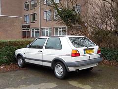 Volkswagen Golf 1.6 CL Manhattan (29 06 1989) (brizeehenri) Tags: volkswagen golf 1989 xl39pd rijswijk