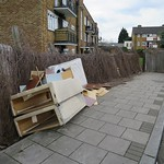 Rubbish dumped in Stoneleigh Road carpark # 1 thumbnail