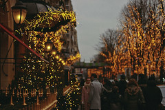 Paris Lights (TheJennire) Tags: photography fotografia foto photo canon camera camara colours colores cores light luz young tumblr indie teen paris parislights street winter people europe france 2018 50mm bokeh christmas xmas holidays christmaslights moment night