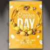 Easter Day Flyer - Spring PSD Template (psdmarket) Tags: easter easterdayflyer easterflyer easterparty easterpsd eastertemplate egg festival flyer happyeaster spring springbreak springtime