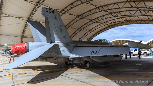 "Boeing EA-18G Growler of VX-31 ""Dust Devils"" from NAWS China Lake"