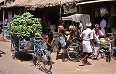 Tamil Nadu 3874564560_56ee6cc3a1_o (Tartarin2009 (+3,700,000 views)) Tags: inde india tamilnadu market bananes bananas travel carriage bike tricycle tuktuk rickshaw transport transportation