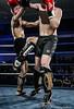 Fight NIght: Gregor McHardy (Edinburgh) v  Lewis Cochin (GU) (FotoFling Scotland) Tags: fightnight gcalmuaythai glasgow glasgowcaledonianuniversity hamishwoodlecturehall muaythai sport thaiboxing boxing fight