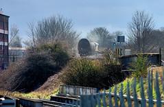 "Camp Hill Tanks (whosoever2) Tags: uk united kingdom gb great britain england nikon d7100 train railway railroad march 2018 ""west midlands"" colas class60 birmingham bordesley camphill freight 6z56 longmarston"