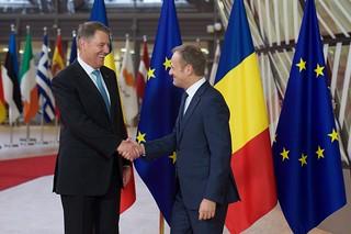 President Tusk meets Klaus Iohannis, President of Romania