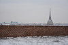 Oltre il muro - Beyond the wall. (sinetempore) Tags: torino turin moleantonelliana muretto wall neve snow freddo cold inverno winter ghiaccio ice montedeicappuccini oltreilmuro beyondthewall