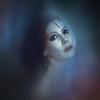 Nebula (Spoken in Red) Tags: fantasyartportrait womansface eyes lowlightportrait photomanipulation fineartportraitphotography veil impressionism night spokeninred fashion face model femal selfportrait lightwind feminine mystical blue