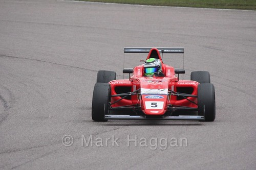 Patrick Pasma in British F4 pre-season testing 2018