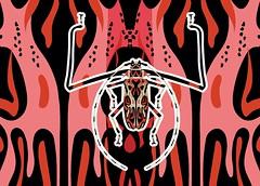besouros juntos-03 (Allan Rodrigo) Tags: besouro besouros beetle psicodelia animação artevetorial artedigital vetor vector illustration color mushroom lsd