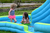 Cool Fun on a Hot Day (Vegan Butterfly) Tags: outside outdoor play playing pool water slide kids kid children child person people cute adorable summer homeschool homeschooling