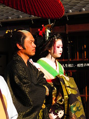IMG_2084 (hattiebee) Tags: japan inuyama kimono traditional oiran makeup