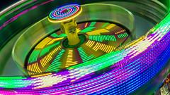 Light Spinner (Sworldguy) Tags: colourful fair carnival spinning spring lights longexposure nikon d7000 nightscene night zone ride amusementpark westcoastamusements playland midway