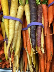 At the Market (Jill Clardy) Tags: sigona's purple orange yellow market vegetables veggies carrots 365the2018edition 3652018 day77365 18mar18