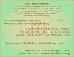 10, uses of 10 (Martin LaBar) Tags: 10 ten number numeral zehn