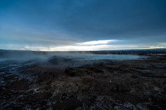 Thermal Pool (RobertLyndonDavis) Tags: arctic norther pool winter a7s2 water geysir nordic a7sii rocks iceland blue waterfall river north cold travel geothermal europe sony ice reykjavík capitalregion is