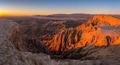 Sunrise on the Badlands (ihikesandiego) Tags: anza borrego badlands sunrise fonts point desert