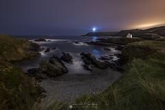 Punta Frouxeira (Chencho Mendoza) Tags: frouxeira galicia valdoviño virxedoporto acoruña faro capilla nocturna