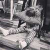 Who needs bed ? #sleepyhead #blackandwhitephotography #iphonephotography #kidsarefunny (ma4werner) Tags: sleepyhead blackandwhitephotography iphonephotography kidsarefunny