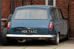 HGK 744C (Nivek.Old.Gold) Tags: 1965 ford cortina deluxe estate 1198cc mk1