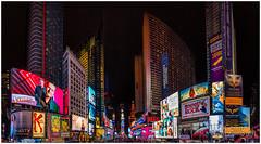 Times Square (BobGeilings.nl) Tags: avondfotografie newyork timesquare nightphotography usa billboard travel coloredlight nightlights night