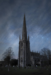 Church in Norfolk (MartinFechtner-Photography) Tags: norfolk england uk unitedkingdom sky stars milkyway winter church kirche himmel nightscape fujifilm xt2