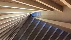 Light n Lines (2).... (markwilkins64) Tags: designmuseum london kensington light lines leadinglines wood beams architecture