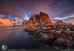 Sunrise at Lofoten (Matteo Rinaldi.it) Tags: sunrise lofoten norvegia norway stampa landscape paesaggio viaggio viaggi viaggifotografici gndlee09soft