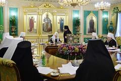 16. Заседание Священного Синода РПЦ 07.03.2018
