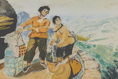 _62A1858 (gaujourfrancoise) Tags: china chine yunnan gaujour mao maozedong juizhaivillage maovillage villagemao murals peinturesmurales muséemao maomuseum petitlivrerouge littleredbook fresques frescoes