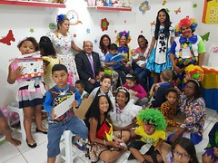 Escola dominical da sede de Del Castilho