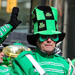 Faces of St. Patrick's Day Parade: green tall hat thumbnail