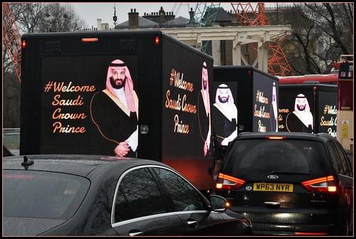 Saudi Crown Prince Mohammed bin Salman Visits London, From FlickrPhotos
