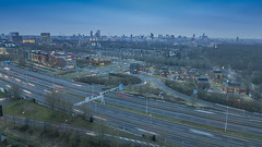DJI_0448-HDR kl (keesoosterwijk) Tags: rotterdam roof rotterdamlove 010 drone dronephotography nightphotography mavic mavicpro mavicdrone nightshots hdr hdrphotography