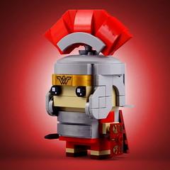 BrickHeadz: Centurion (Swan Dutchman) Tags: lego brickheadz centurion officer roman army infantry