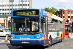 22462 T462 BNL (Cumberland Patriot) Tags: stagecoach busways travel services north east england newcastle upon tyne and wear pte passenger transport executive buses 462 22462 t462bnl man 18220 alexander alx 300 alx300 low floor single deck decker bus diesel engine road vehicle loliner lowliner beachball swoops 36 tyneside