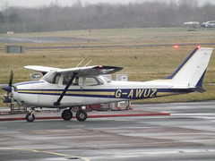 G-AWUZ Reims Cessna Skyhawk 172 Private (Aircaft @ Gloucestershire Airport By James) Tags: gloucestershire airport gawuz reims cessna skyhawk 172 private egbj james lloyds