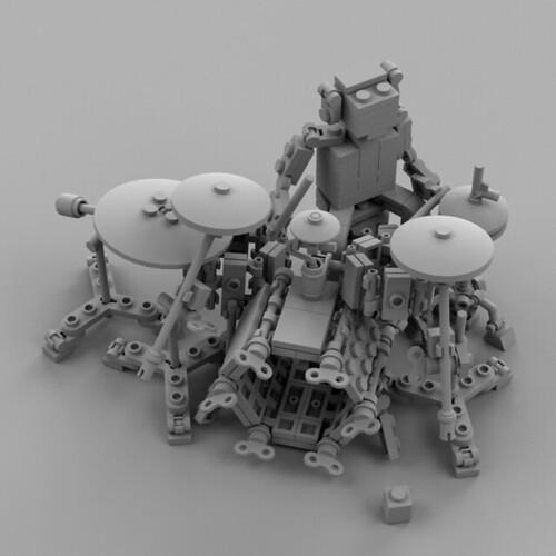 Lego Drummer