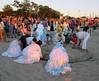 Yemanjá Festival (jann.haemers) Tags: playa ramirez sundown montevideo uruguay festival goddess sea iemanjá yemanjá summer beach south america women people white sand culture