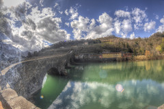#202 (mariopolicorsi) Tags: mariopolicorsi canon eos 700d fisheye samyang 8mm hdr hdrawards simplysuperb photoshop photomatix toscana tuscany italia italy lucca ponte bridge acqua water waterscapes fiume river riverscapes nuvole clouds sky cielo marzo march inverno winter travel viaggio europa europe landscapes pontedellamaddalena pontedeldiavolo borgoamozzano