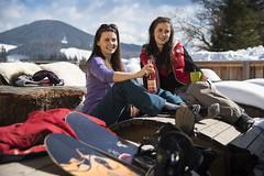 Entspannen an der frischen Luft (Naturpark Almenland) Tags: almenland naturpark steiermark oststeiermark urlaub alm teichalm sommeralm winter wintersport natur