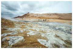 Hverarönd, Iceland (Bigmob Dontwannastop) Tags: sulfur sulphur land volcano geothermal hot spring iceland nature hill